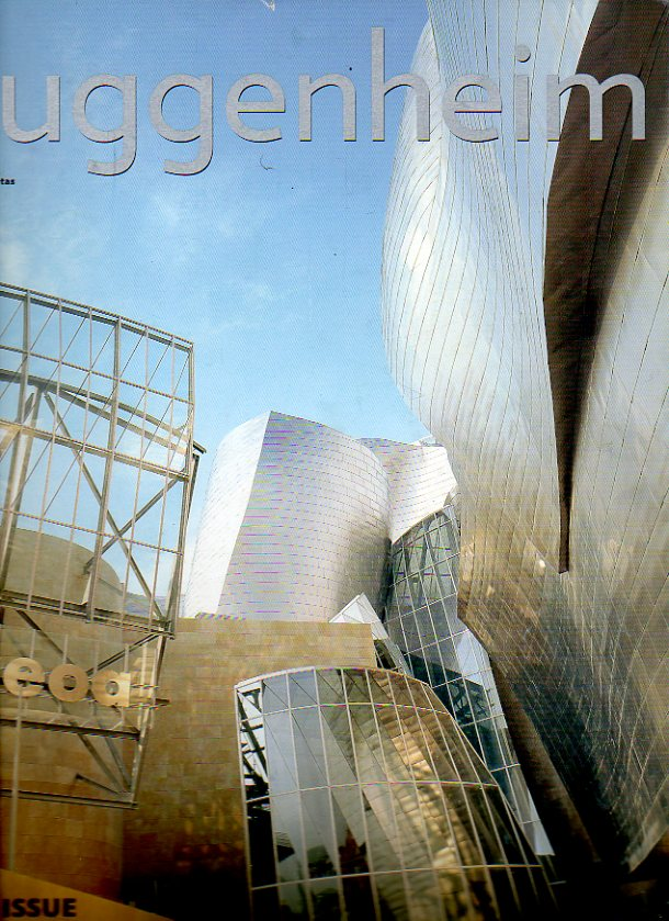 GUGGENHEIM MAGAZINE. FRank Gehry´s Guggenheim Museum Bilbao. Touring the basque country. New Art: From Holzer and Serra...