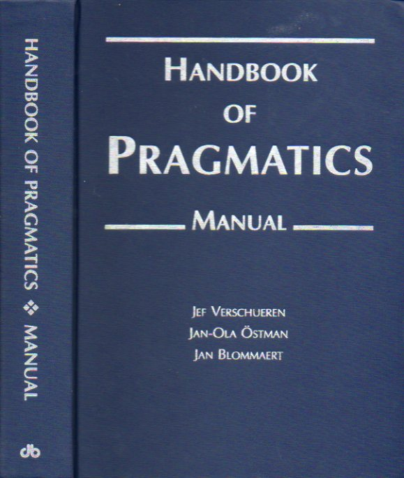 HANDBOOK OF PRAGMATICS. MANUAL.