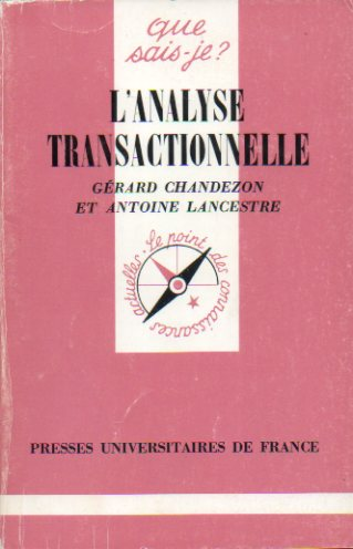 "L""ANALYSE TRANSACTIONNELLE."