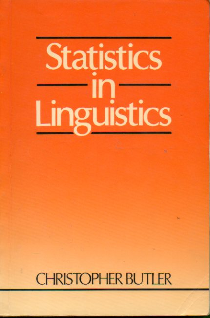 STATISTICS IN LINGUISTICS.