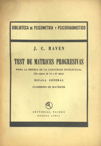 Test de matrices progresivas