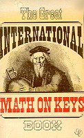 The great international math on keys book