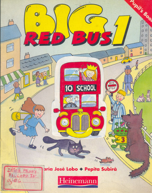 "Big red bus 1 - Pupil""s book"
