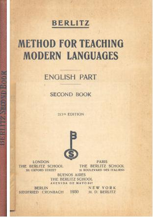 Method for teaching modern languages - English Part - Second Book