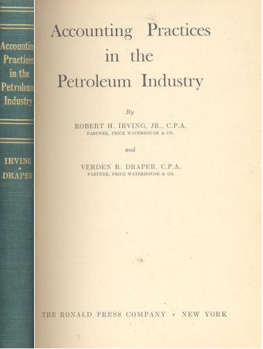 Accounting practices in the Petroleum Industry