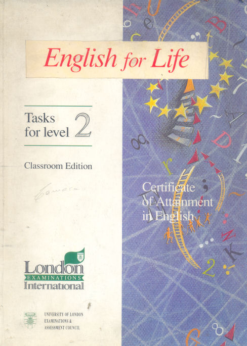 English for Life - Tasks for level 2