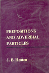 Prepositions and adverbial particles