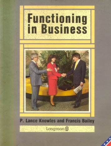 Functioning in business