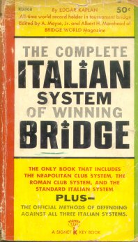 The complete ITALIAN system of winning BRIDGE