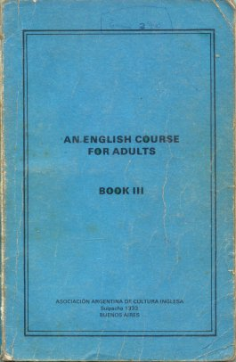 An english course for adults - Book III