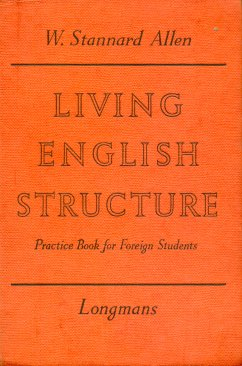 Living english structure - Practice book for foreign students