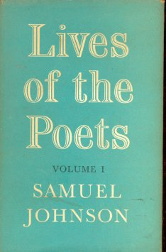 Lives of the Poets (Volume 1)