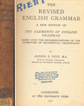 The Revised english grammar