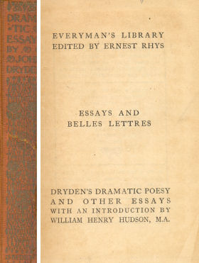 Essays and belles lettres