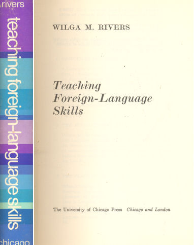 Teaching Foreign - Language Skills