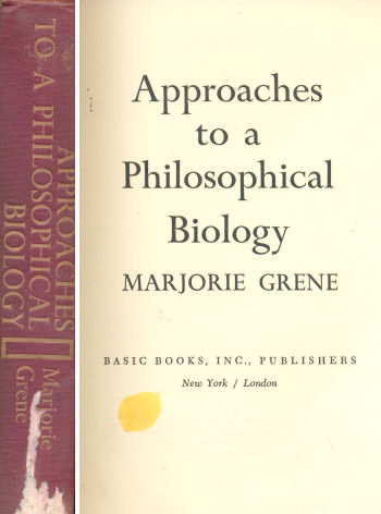 Approaches to a Philosophical biology