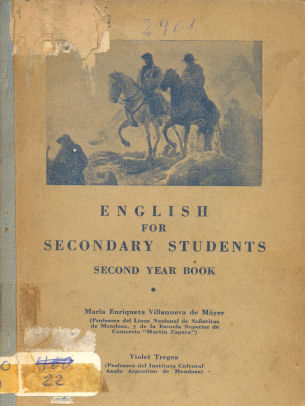 English for secondary students - Second year book