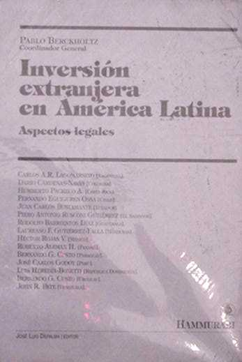 Inversion extranjera en America Latina