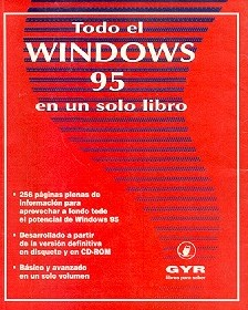 Todo el windows 95 en un solo libro