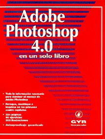 Adobe photoshop 4.0 en un solo libro