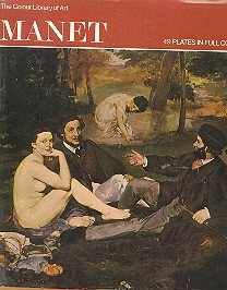 The colour library of art - Manet