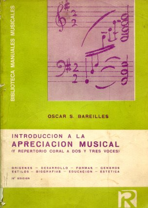 Introduccion a la apreciacion musical