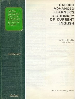 "Oxford advanced learner""s diccionary of current english"