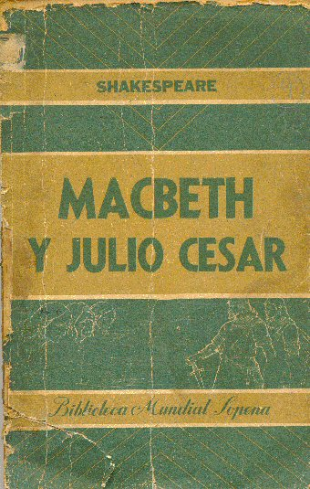 Macbeth y Julio Cesar